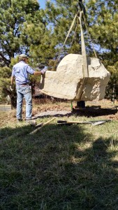 placing boulder chair 2